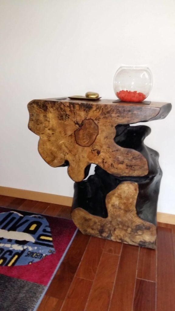 Consola em Tamarindo, Papiro Wood